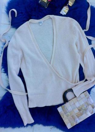 Ангоровая кофта-джемпер с запахом. кофточка. футболка. блуза. рубашка. майка.