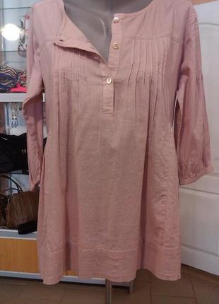 Легкая рубашка-распашонка для беременных. размерs-m. cache cache,