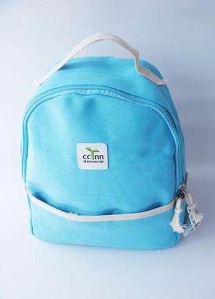 Небольшой женский тканевый рюкзак