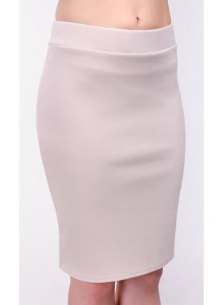 Новая пудровая трикотажная юбка на резинке, разные размеры и цвета.