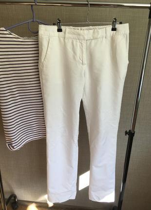 Белые брюки h&m