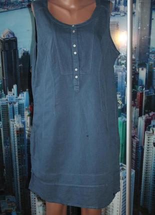 Платье натуральное 16-18 размер