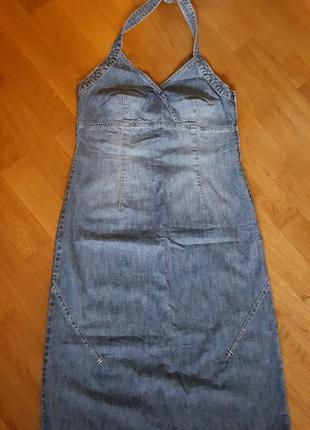 Джинсовый сарафан, платье inwear