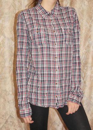 Лёгкая рубашка в клетку итальянского бренда calliope!