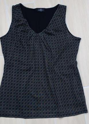 Красивая блуза на подкладке ! р наш 50-52