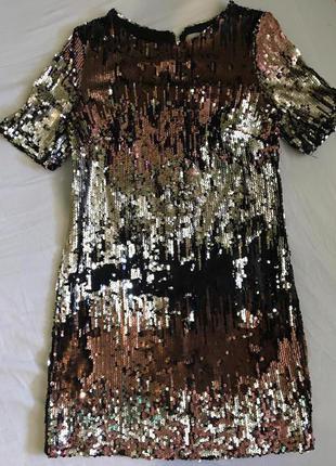 Платье двухсторонние пайетки george