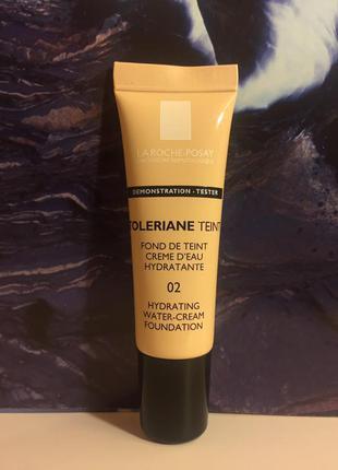 Увлажняющий тональный крем  la roche-posay toleriane teint hydrating water-cream spf 20