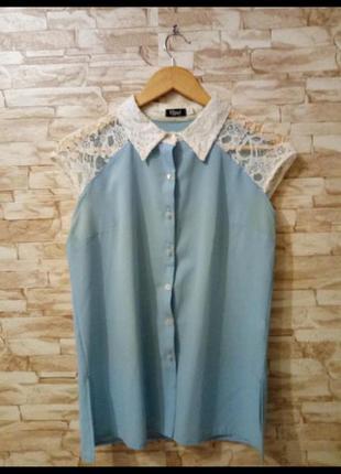 Шифоновая блуза gepur