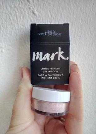 Рассыпчатые тени-пигмент для век avon mark eyeshadow