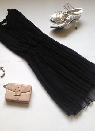 Черное плиссированное платье. смотрите мои объявления!