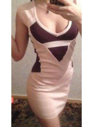 Love republic бандажное платье