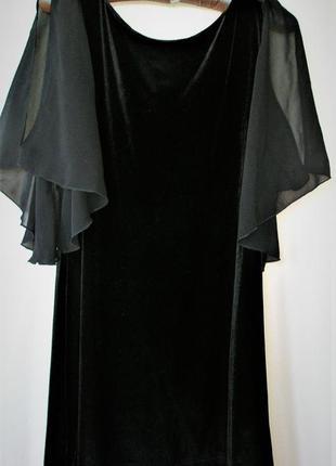 Платье короткое бархат  велюр шелк dorothy perkins.