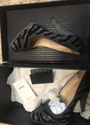 Prada оригинал туфли