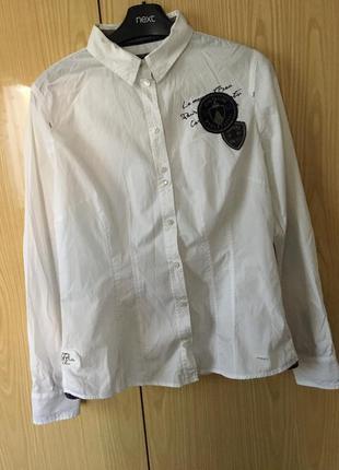 Белая рубашка tom tailor