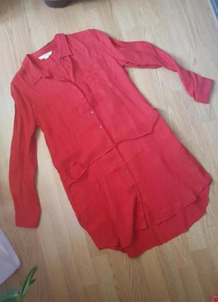 Платье рубашка dkny размер 10