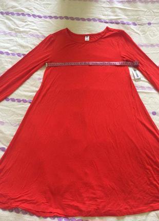 Платье красное old navy4 фото