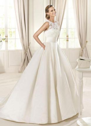 Свадебное платье известного бренда george brite.