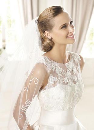 Свадебное платье известного бренда george brite.2