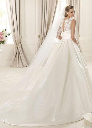 Свадебное платье известного бренда george brite.3