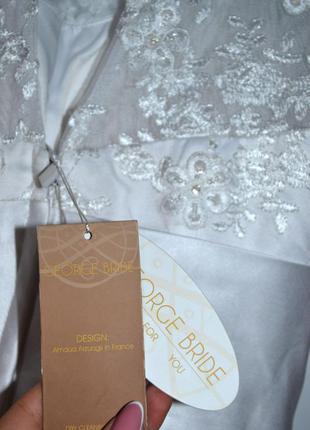 Свадебное платье известного бренда george brite.4