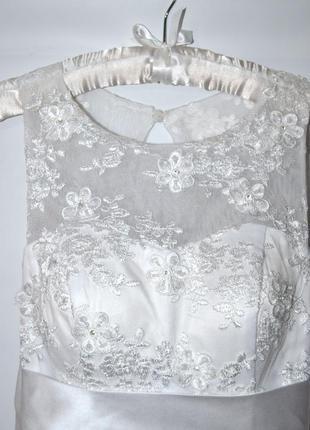 Свадебное платье известного бренда george brite.5