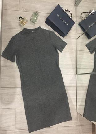 Новое платье zara миди