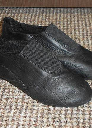 Танцевальные туфли джазовки stagecoach кожа. размер 31