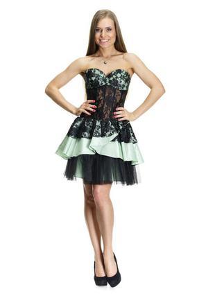 Корсетное платье из кружева! выпускное, яркое, вечернее!