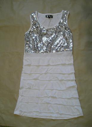 Майка, туника, платье р. sx, s на стройную жен. или подростка