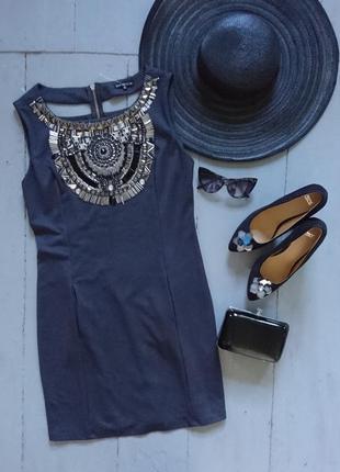 Нарядное платье с красивым декором №133