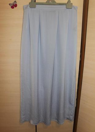 Dorothy perkins юбка голубая длинная легкая