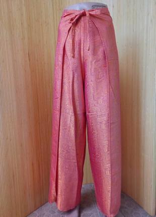 Пляжные  брюки  саронг тайский шелк / парэо
