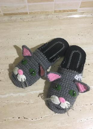 Тапочки « мой милый котик»