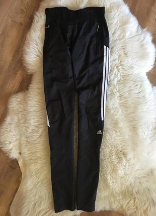 Спортивные штаны лосины под adidas xs/s красиво сидят на попе округляют