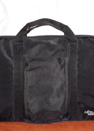 Черная сумка для документов, ноутбука и т.д.