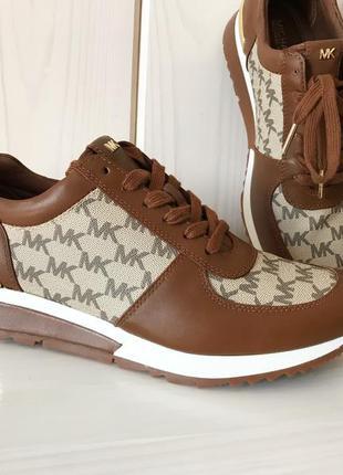 Кожаные кроссовки michael kors