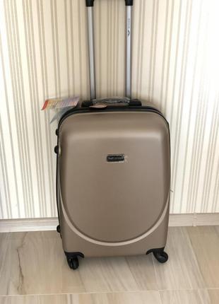Дешевле только у нас средний чемодан бренд wings валіза сумка на колесах, 100% оригинал!