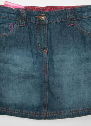 Джинсовая юбка для девочек pepperts, германия