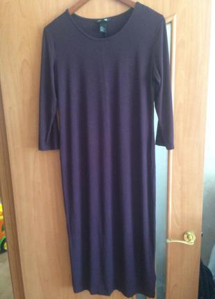 Базовое платье актуального цвета от h&m, m