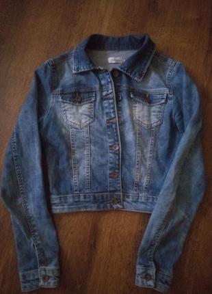 Джинсовые куртки, женские 2019 - купить недорого вещи в интернет ... b7625749ec6