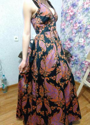 Вечернее платье в пол. выпускное платье