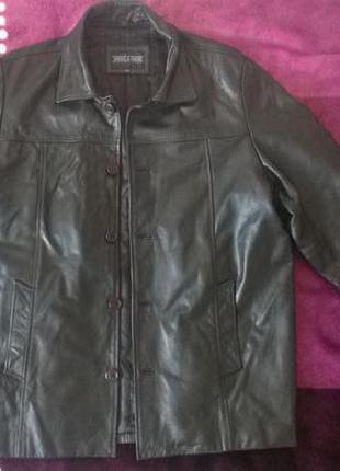 Куртка,натуральная кожа, vera pelle,xxl