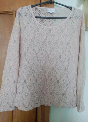 Кружевная блузка новая от trend one