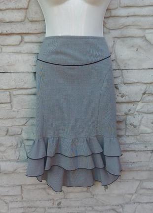 Распродажа!!! красивая юбка с оборками