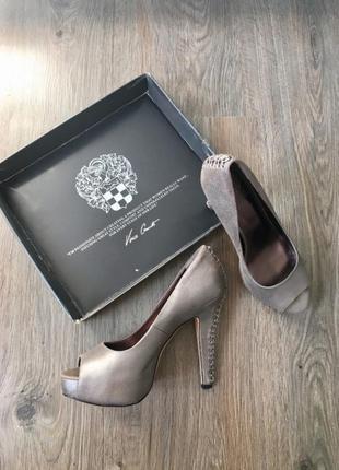 Кожанные  туфли vince camuto