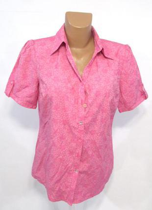 Блузка mona, розовая, 38 (s), как новая!