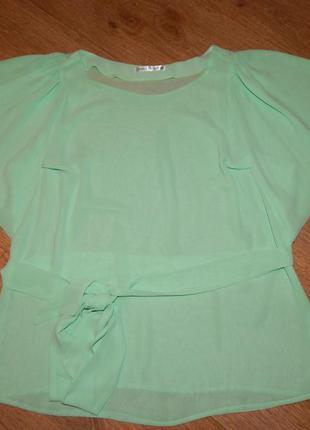 Хорошая женская футболка-блузочка natali bolgar. размер 16