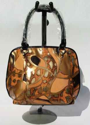 Farfalla rosso. элитная сумка. стильный принт. новая