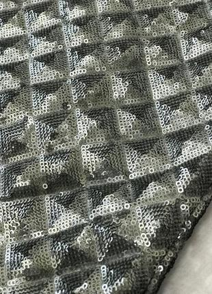 Шикарная юбка расшитая паетками с имитацией объемного принта  ki1822069  next3