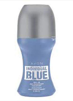 Дезодорант-антиперспирант avon individual blue for him